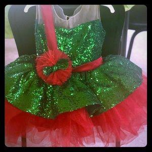Gorgeous Jingle Bell dress by Adaaziza, 3T